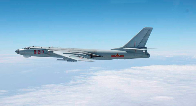 Nhật Bản chặn máy bay quân sự Trung Quốc trên biển Hoa Đông - Ảnh 1.