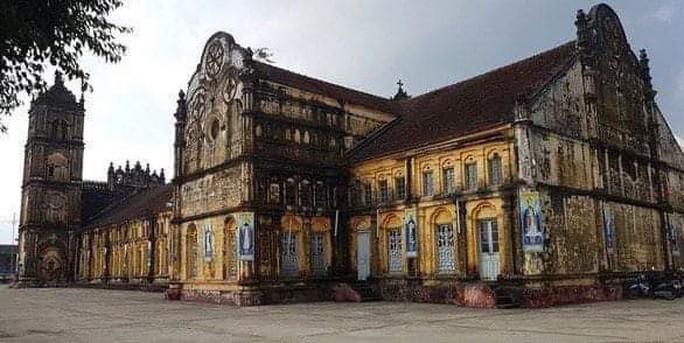 Cục Di sản lên tiếng về việc xây lại nhà thờ Bùi Chu - Ảnh 1.