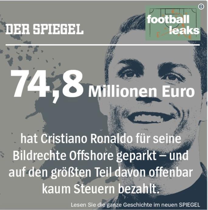 Trốn thuế ở Tây Ban Nha: Ronaldo tiếp tục gặp hạn khi thua kiện Der Spiegel  - Ảnh 2.