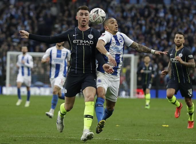 Vào chung kết FA Cup, Man City tiến sát giấc mơ ăn 4 - Ảnh 2.