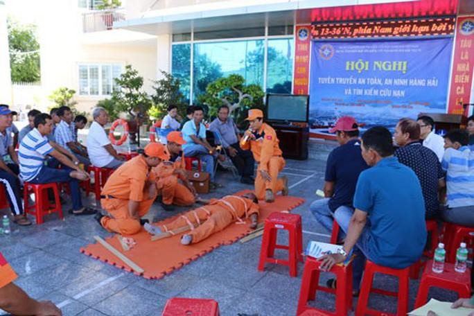 Khánh Hòa: Tập huấn cách đi biển - Ảnh 1.