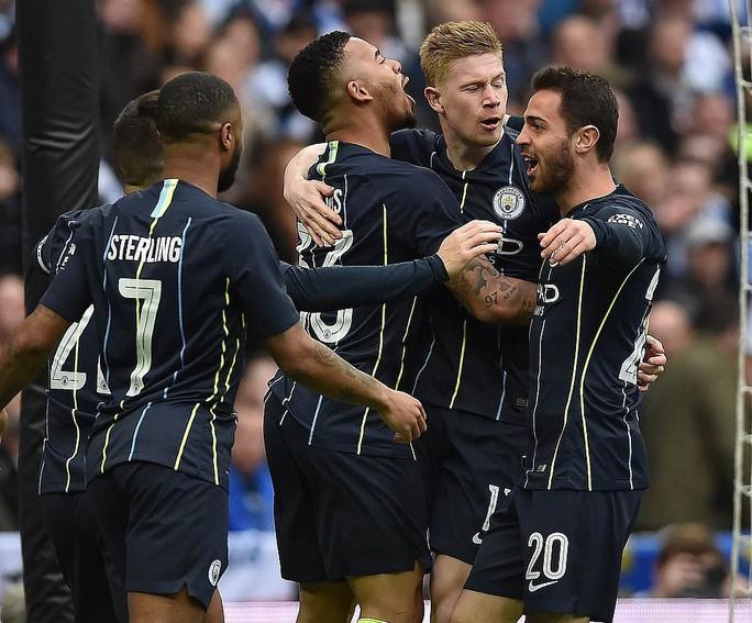 Vào chung kết FA Cup, Man City tiến sát giấc mơ ăn 4 - Ảnh 9.