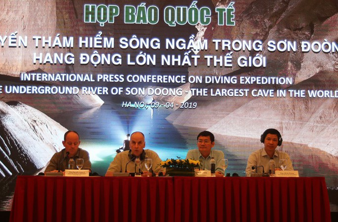 Phát hiện mới về hệ thống hang ngầm sâu hơn mực nước biển ở Sơn Đoòng - Ảnh 1.
