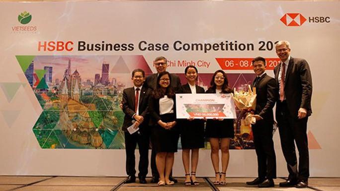 Sinh viên RMIT giành giải nhất cuộc thi giải quyết tình huống kinh doanh - Ảnh 1.