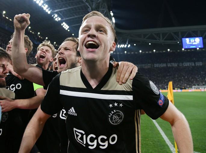 Ajax - sự trở lại của bóng đá tổng lực - Ảnh 1.