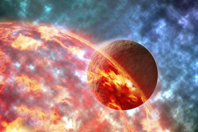 Mặt trăng sinh ra từ đại dương đá nóng chảy của trái đất - Ảnh 1.