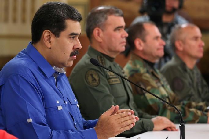 Venezuela đánh bại âm mưu đảo chính - Ảnh 1.