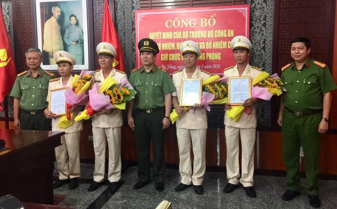 Đà Nẵng: Bổ nhiệm hàng loạt lãnh đạo công an cấp phòng, quận - Ảnh 1.
