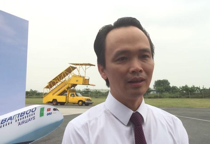 Ông Trịnh Văn Quyết: Bamboo Airways sẽ bay thẳng đến Mỹ đầu năm sau - Ảnh 1.