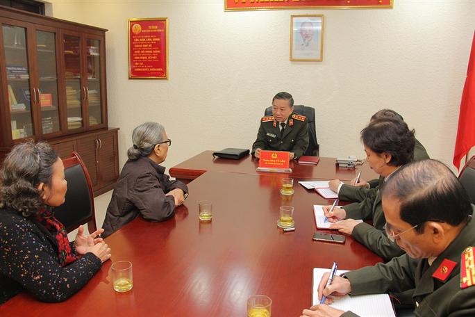 Đại tướng Tô Lâm 3 lần tiếp công dân trong năm 2019 - Ảnh 1.