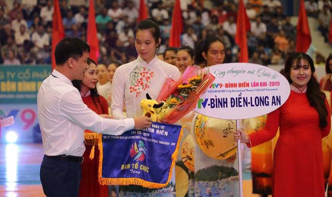 VTV Bình Điền Long An đánh bại Đại học Nam Kinh (Trung Quốc) - Ảnh 2.