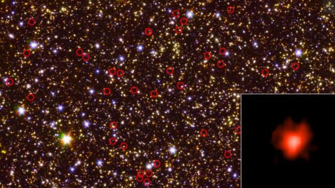 Bão ánh sáng vũ trụ từ quá khứ truyền tới trái đất - Ảnh 2.