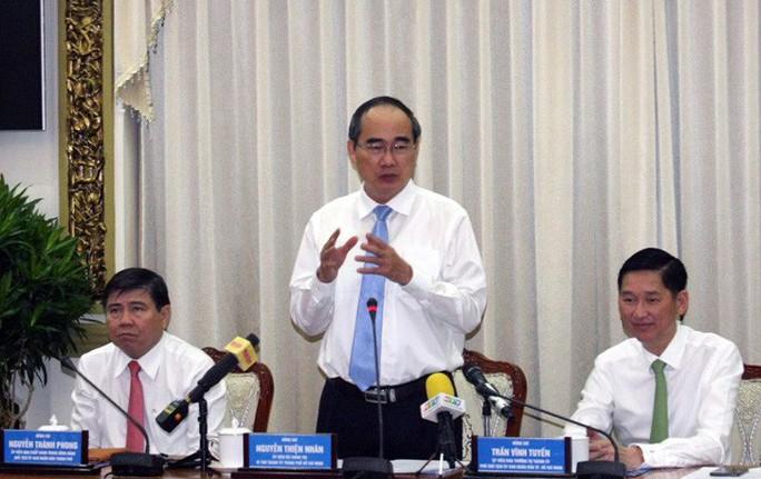 Bí thư Nguyễn Thiện Nhân: Phải công khai toàn bộ kết luận thanh tra từ 2016 đến nay - Ảnh 2.