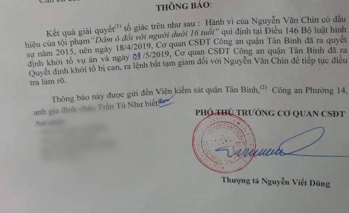 TP HCM: Bắt giam gã tài xế xe ôm dâm ô bé 5 tuổi - Ảnh 1.