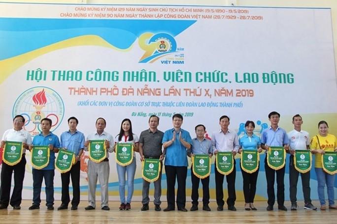 Đà Nẵng: Gần 300 vận động viên tham gia hội thao CNVC-LĐ - Ảnh 1.