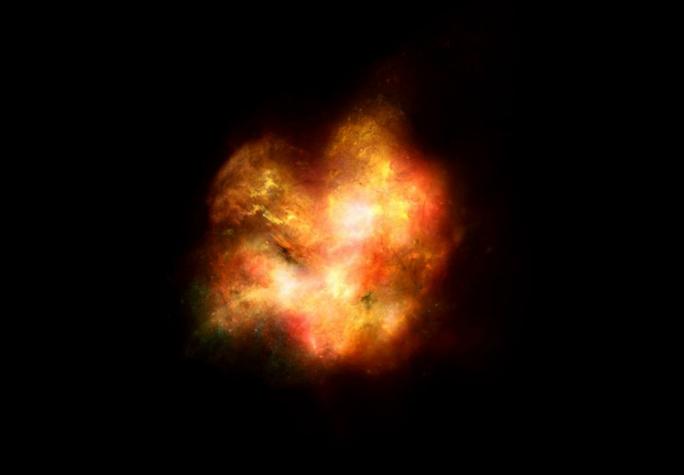 Bão ánh sáng vũ trụ từ quá khứ truyền tới trái đất - Ảnh 1.
