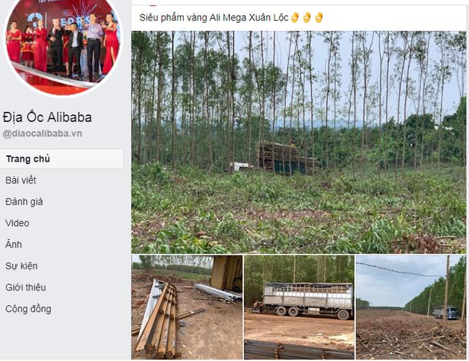 Đồng Nai cảnh báo về dự án của Alibaba ở huyện Xuân Lộc - Ảnh 1.