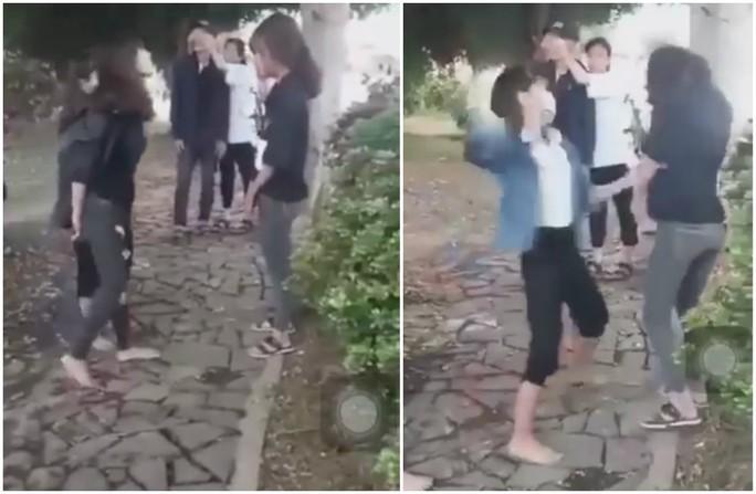 Vụ 2 nữ sinh lớp 10 bị đánh suốt một giờ: Nhiều lần định lột cả áo quần làm nhục! - Ảnh 1.
