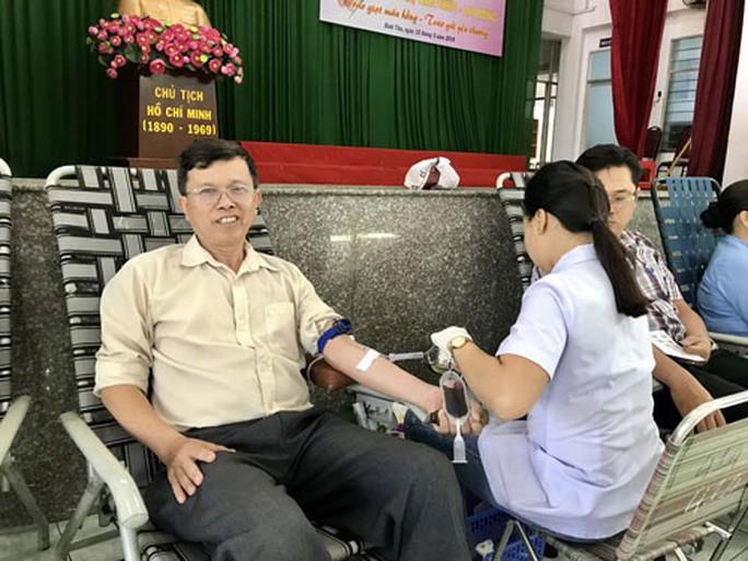 CNVC-LĐ hiến máu cứu người - Ảnh 1.