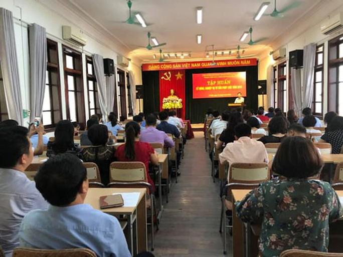 Hà Nội: Tập huấn kỹ năng tư vấn pháp luật cho cán bộ Công đoàn - Ảnh 1.