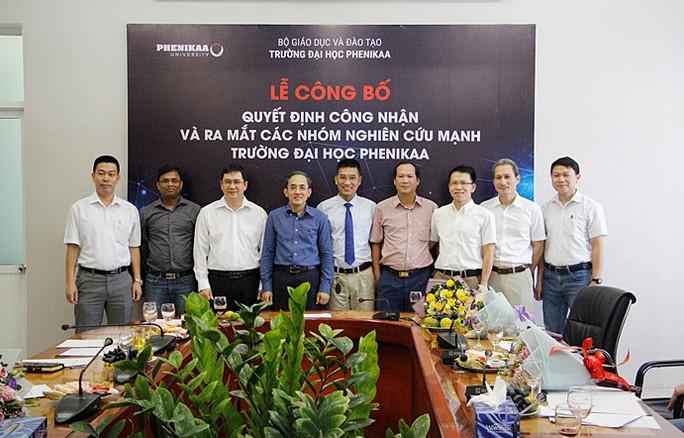 Ra mắt 8 nhóm nghiên cứu mạnh khoa học, công nghệ mũi nhọn - Ảnh 1.