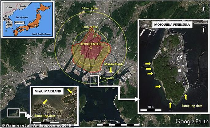 Cơn mưa thủy tinh đổ xuống bãi biển Hiroshima - Ảnh 2.
