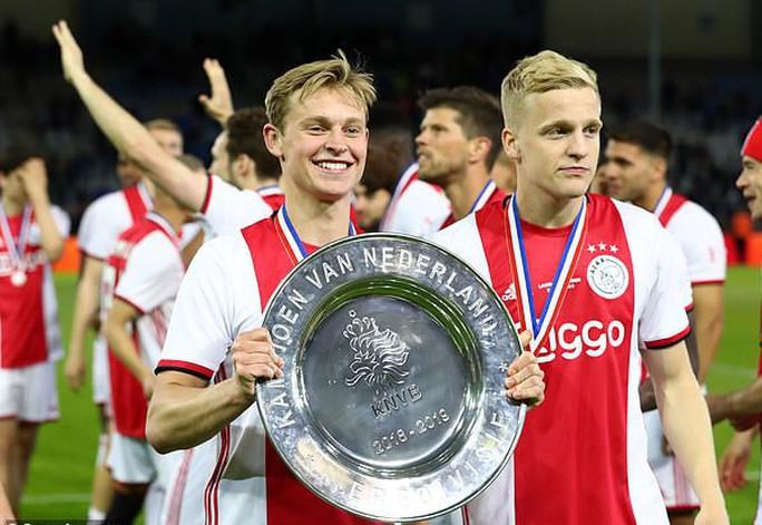 Ajax lên ngôi vô địch Hà Lan, chuẩn bị bán sạch đội hình toàn sao - Ảnh 4.