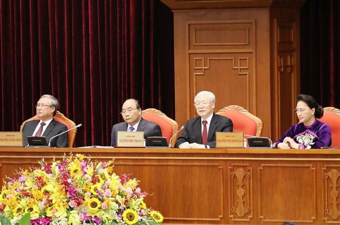 Cận cảnh khai mạc Hội nghị Trung ương 10 - Ảnh 11.