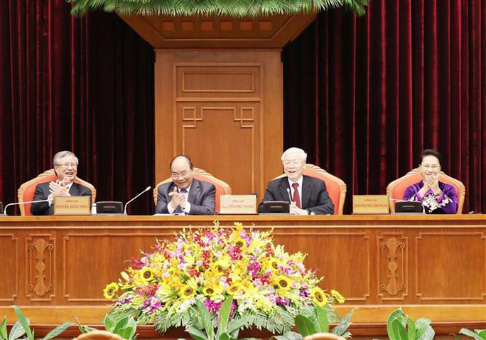 Cận cảnh khai mạc Hội nghị Trung ương 10 - Ảnh 12.