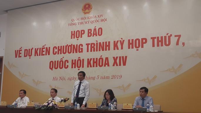 Kỳ họp thứ 7 Quốc hội khóa XIV sẽ dành 60% thời gian để xây dựng pháp luật - Ảnh 1.