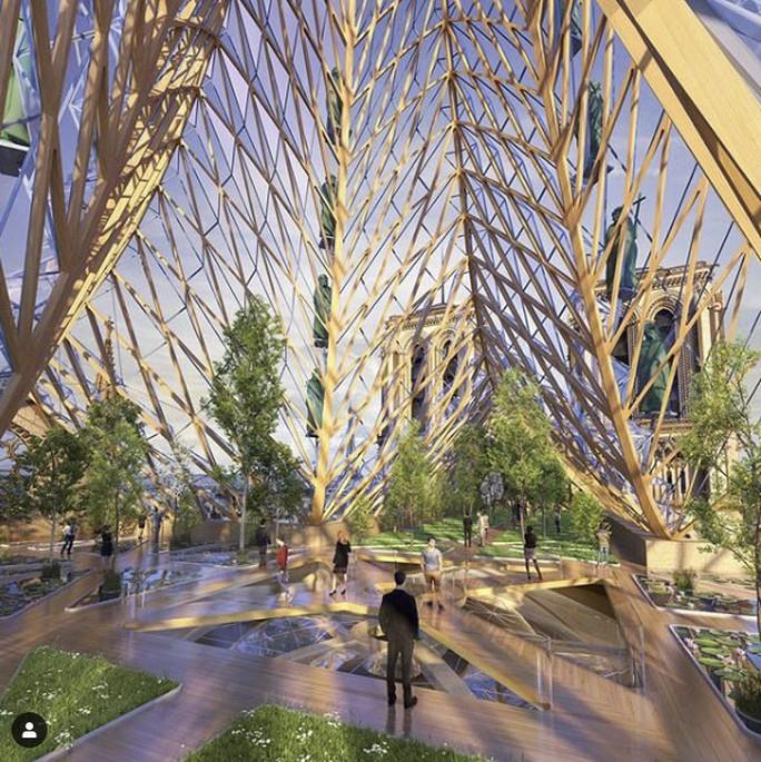 Choáng với những mẫu thiết kế Nhà thờ Đức Bà Paris - Ảnh 2.