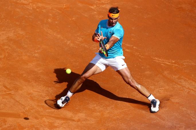 Nadal, Djokovic xuất sắc vào bán kết, Federer bỏ cuộc ở Rome Open 2019 - Ảnh 1.