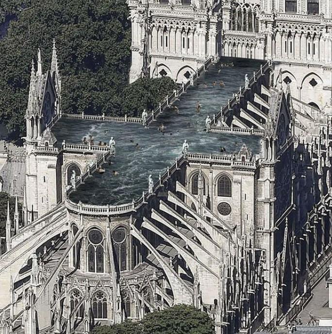 Choáng với những mẫu thiết kế Nhà thờ Đức Bà Paris - Ảnh 6.