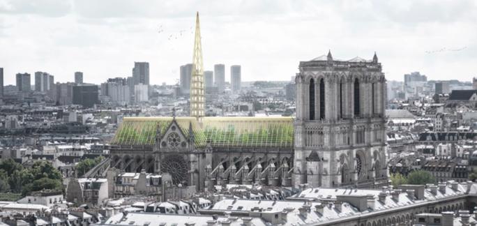 Choáng với những mẫu thiết kế Nhà thờ Đức Bà Paris - Ảnh 4.