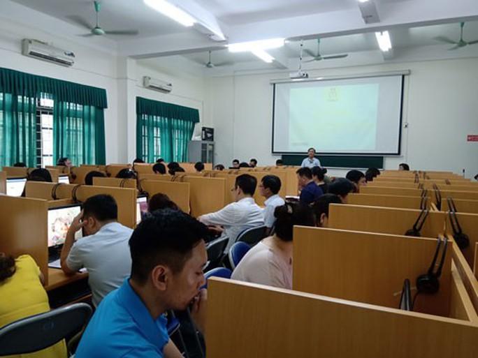 Hà Nội: Tập huấn triển khai phần mềm quản lý đoàn viên - Ảnh 1.