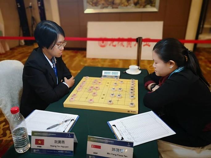 Hoàng Yến giành HCB Đại hội Thể thao trí tuệ thế giới - Ảnh 1.
