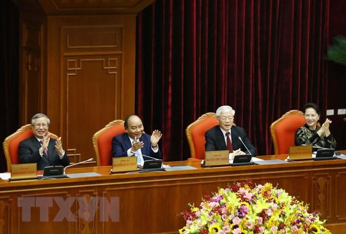 Những hình ảnh phiên bế mạc Hội nghị Trung ương 10 - Ảnh 7.