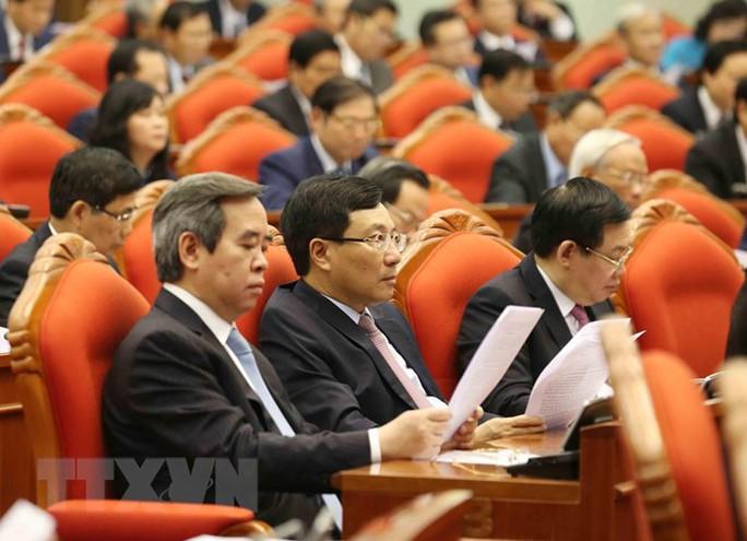 Những hình ảnh phiên bế mạc Hội nghị Trung ương 10 - Ảnh 14.