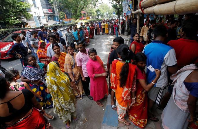 Bầu cử ở Ấn Độ vào giai đoạn cuối - Ảnh 1.