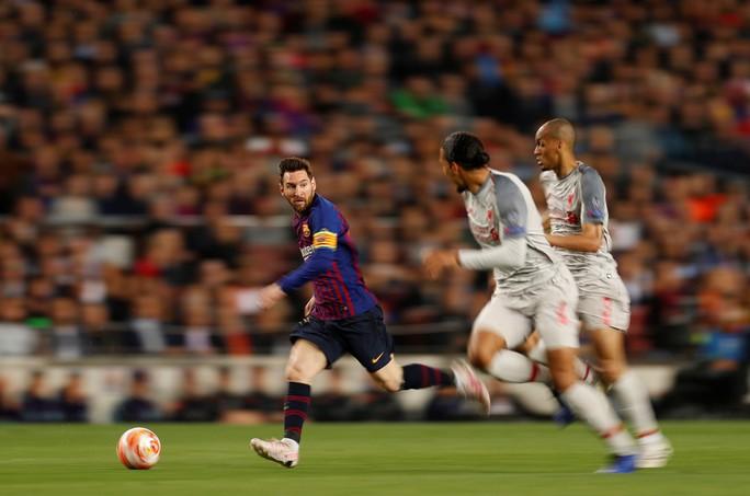 Xem Van Dijk cầu cứu đồng đội để ngăn chặn Messi - Ảnh 5.