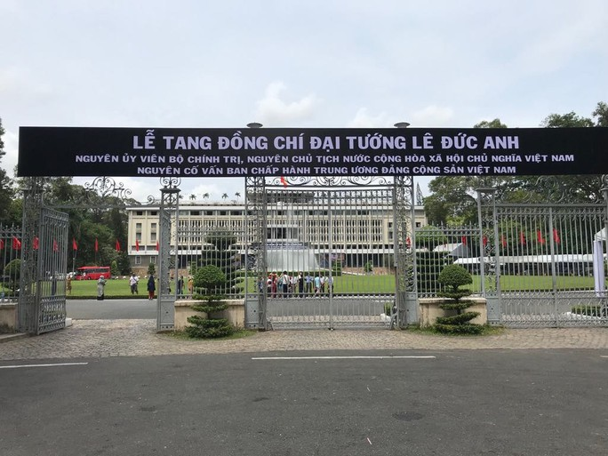 TP HCM khẩn trương chuẩn bị lễ tang nguyên Chủ tịch nước Lê Đức Anh - Ảnh 1.
