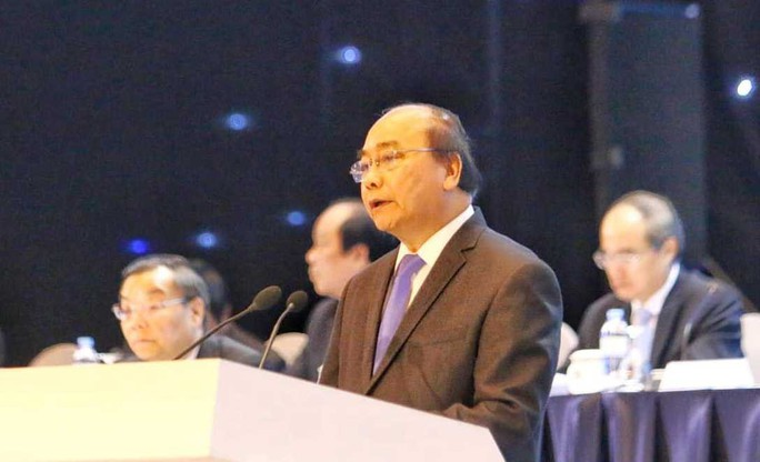 Thủ tướng Nguyễn Xuân Phúc lắng nghe 2.500 doanh nghiệp tư nhân hiến kế - Ảnh 2.