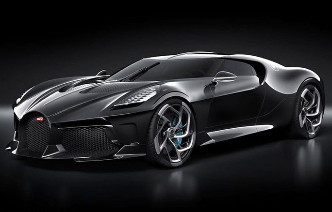 Ronaldo phóng tay tậu xe sang Bugatti La Voiture Noire 300 tỉ đồng - Ảnh 1.