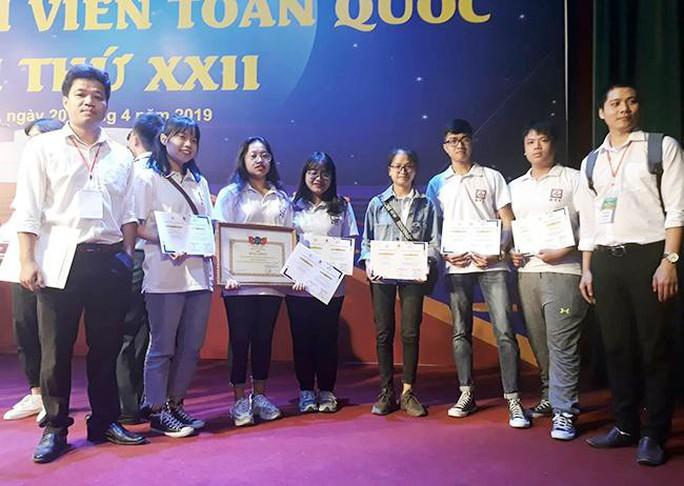 Sinh viên Duy Tân giành nhiều giải Nhì, Ba tại Olympic Sinh viên toàn quốc 2019 - Ảnh 1.