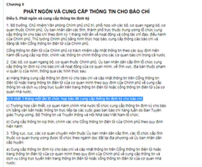 UBND TP Hà Nội né trả lời việc nhiều năm liền không tổ chức họp báo - Ảnh 2.