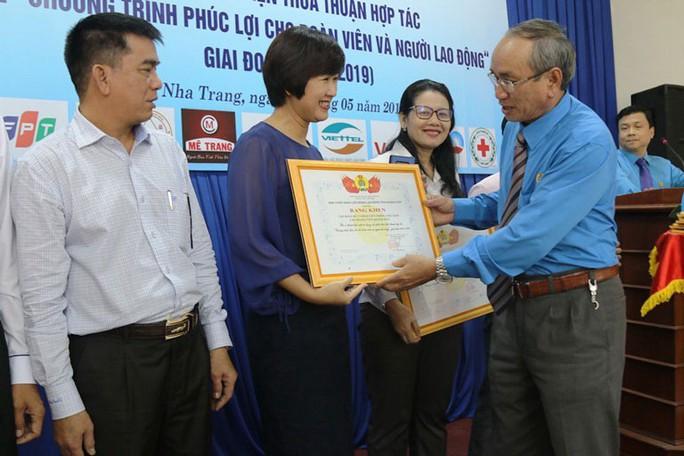 Khánh Hòa: Đẩy mạnh hoạt động chăm lo cho đoàn viên - Ảnh 1.