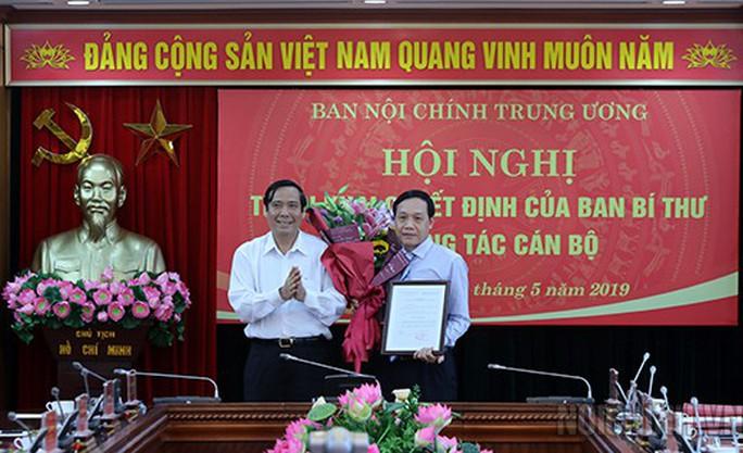 Ban Bí thư bổ nhiệm tân phó Ban Nội chính Trung ương - Ảnh 1.