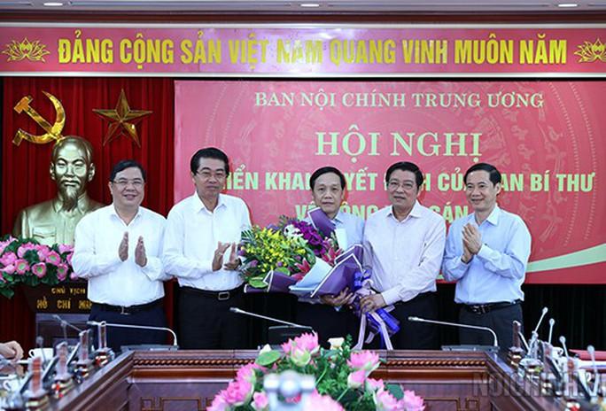 Ban Bí thư bổ nhiệm tân phó Ban Nội chính Trung ương - Ảnh 2.