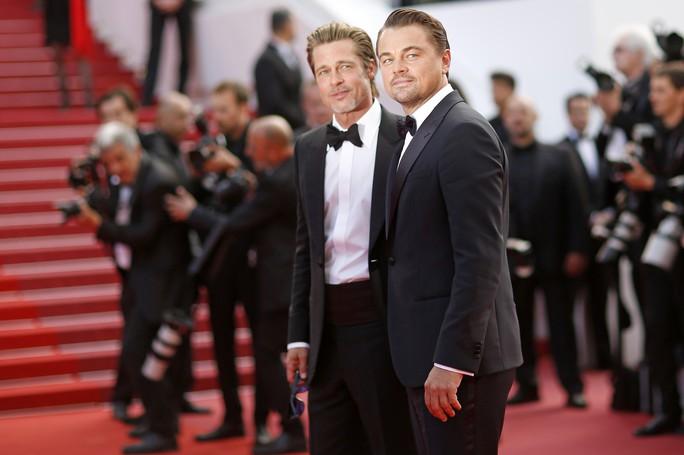 Leonardo DiCaprio, Brad Pitt lịch lãm trên thảm đỏ - Ảnh 8.