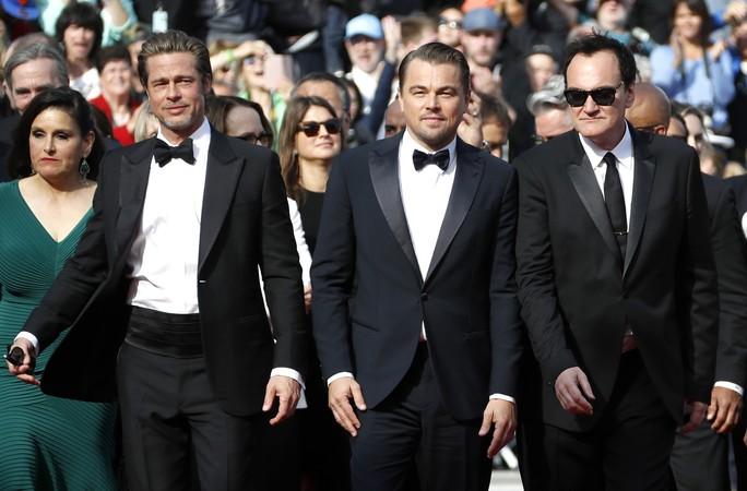 Leonardo DiCaprio, Brad Pitt lịch lãm trên thảm đỏ - Ảnh 14.
